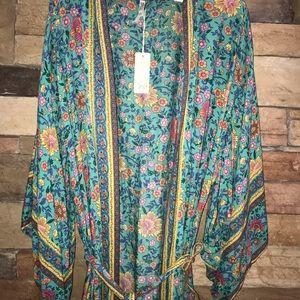 Spell Folk Town Kimono